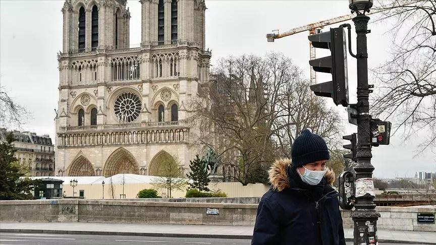 Fransa'da Kovid-19 nedeniyle ölenlerin sayısı 26 bin 310'a yükseldi 1