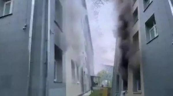 Rusya'da hastane yangını: 1 meyyit 1