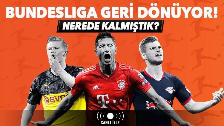 Bundesliga'da nerede kalmıştık? Maçlar iddaa bülteninde ve Misli.com'da CANLI... 1