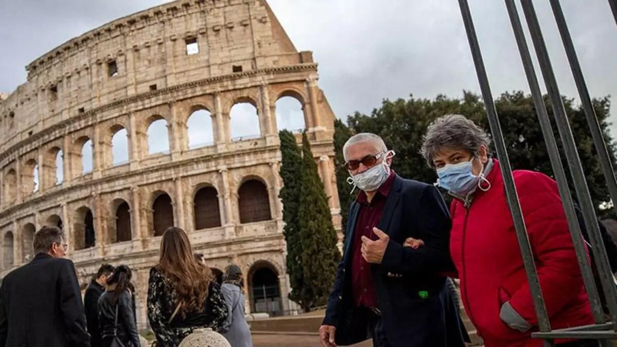 İtalya'da günlük Kovid-19 ölümlerinin sayısı açıklandı 1