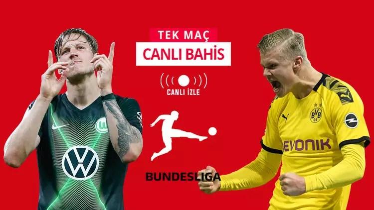 Herkesin gözü Bundesliga'daki bu maçta! Wolfsburg'a karşı Dortmund'un iddaa oranı... 1