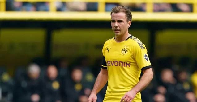 Mario Götze'nin Dortmund serüveni sona eriyor! Dönem sonunda özgür... 1