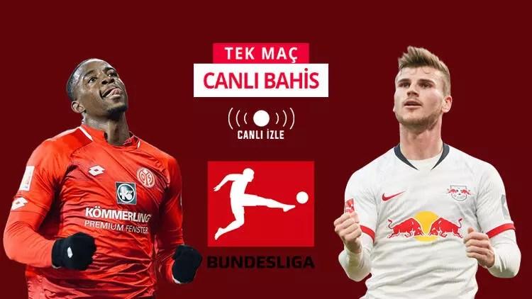 RB Leipzig geçtiğimiz haftayı telafi peşinde! Mainz maçını kazanırlarsa iddaa'da... 1