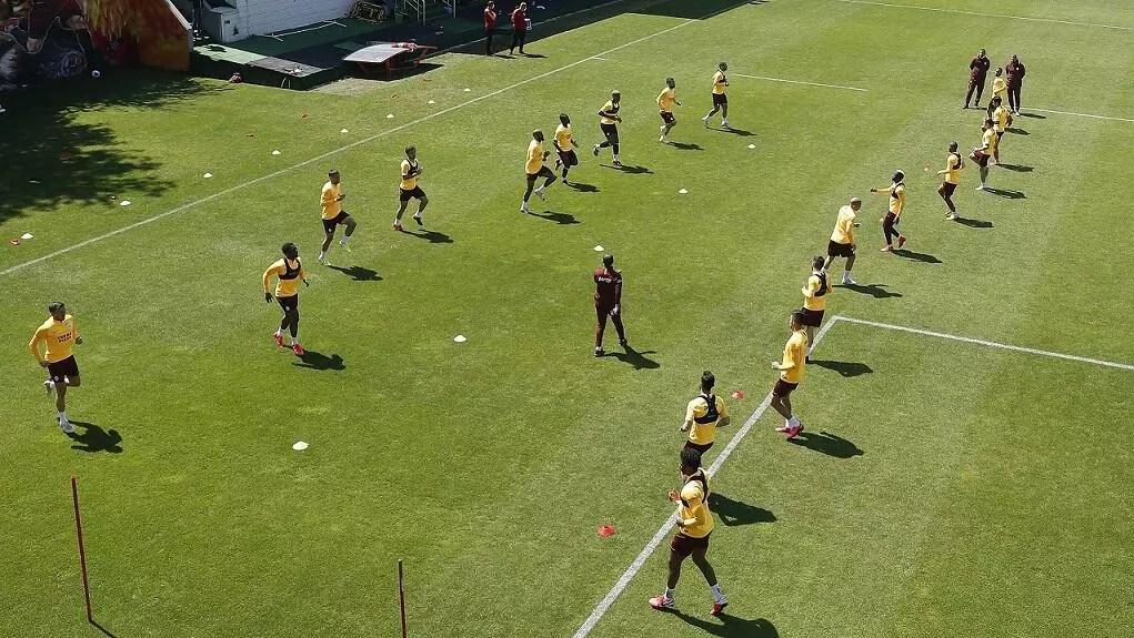 Galatasaray'da Rizespor hazırlıkları sürüyor 1