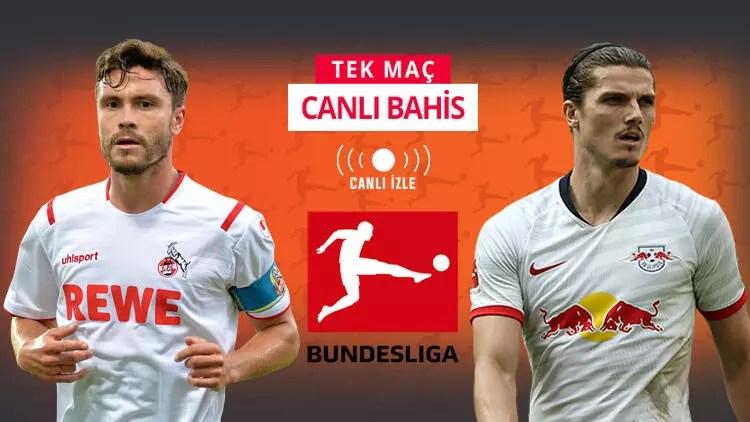 Bundesliga'nın deplasman fatihi RB Leipzig! Köln deplasmanında iddaa'da galibiyetlerine... 1