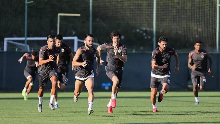 Alanyaspor, Başakşehir maçı hazırlıklarını sürdürdü 1
