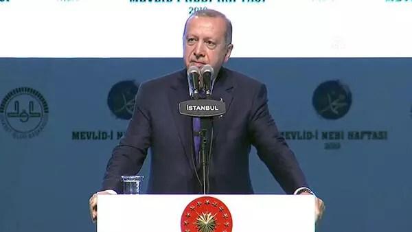 Cumhurbaşkanı Erdoğan'dan önemli açıklamalar:  Dünyanın başka bir yerinde örneği yok
