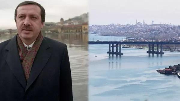 Cumhurbaşkanı Erdoğan'dan Haliç paylaşımı