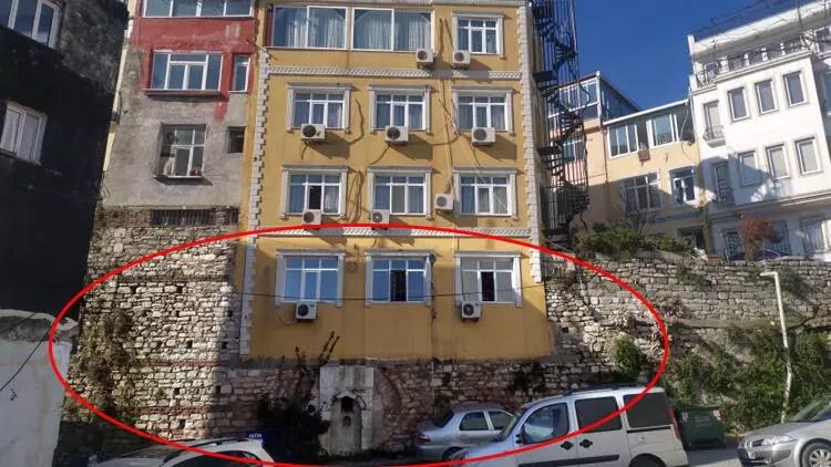 İstanbul'da şaşkına çeviren otel! Sur kalıntılarının üstüne yapmışlar...