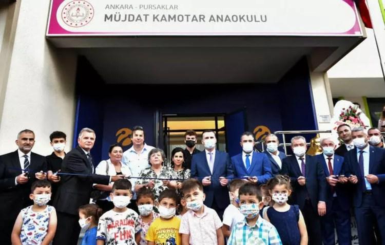 Turkcell 22 yıllık merhum çalışanı için anaokulu inşa ettirdi