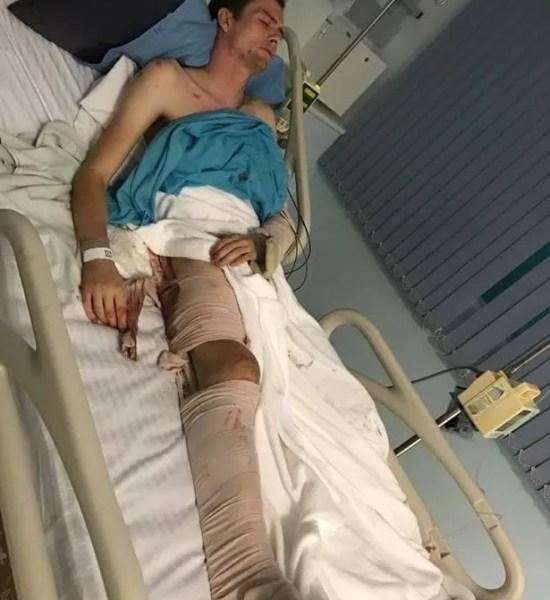 Jake Tonkin Injured In Thailand Crash - Image Copyright  ManchesterEveningNews.Co.Uk