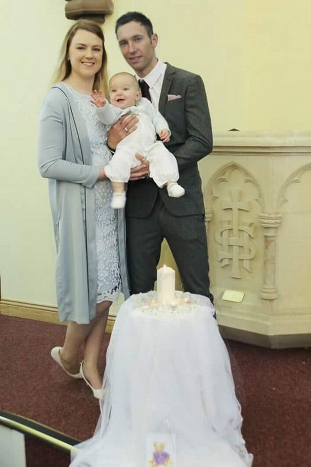 Emma and Mark held a collection at Oliver's christening in March to raise money for the UK charity, Tamba