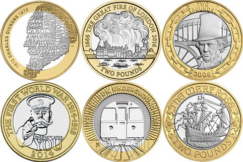Image result for special uk coins