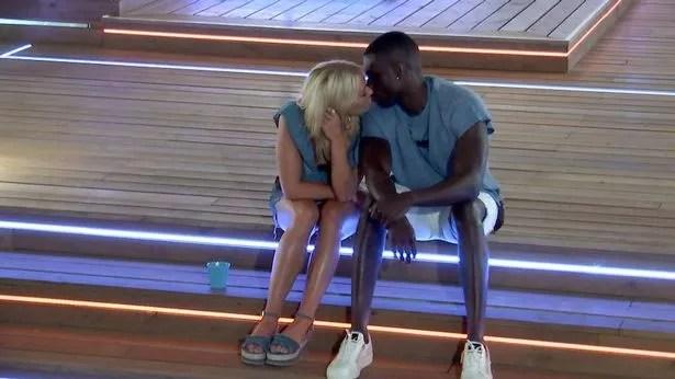 Love Island's Marcel Somerville FINALLY gets a kiss from Gabby Allen