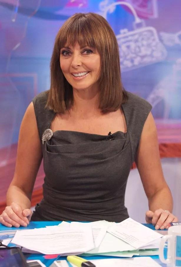 Carol Vorderman New Haircut Loose Women Star She Shows