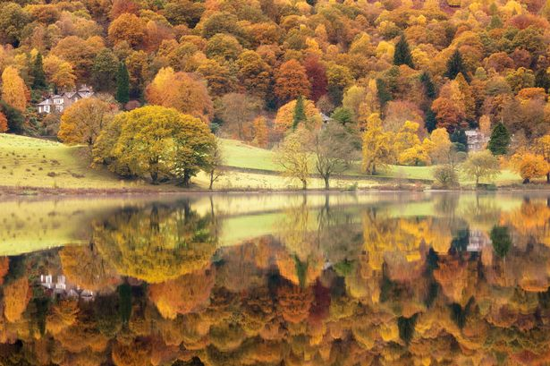 Tranquil: Lakeside reflections at Grasmere