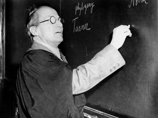 Erwin Schrodinger (1887-1961) founded wave mechanics, creating Schrodinger's equation