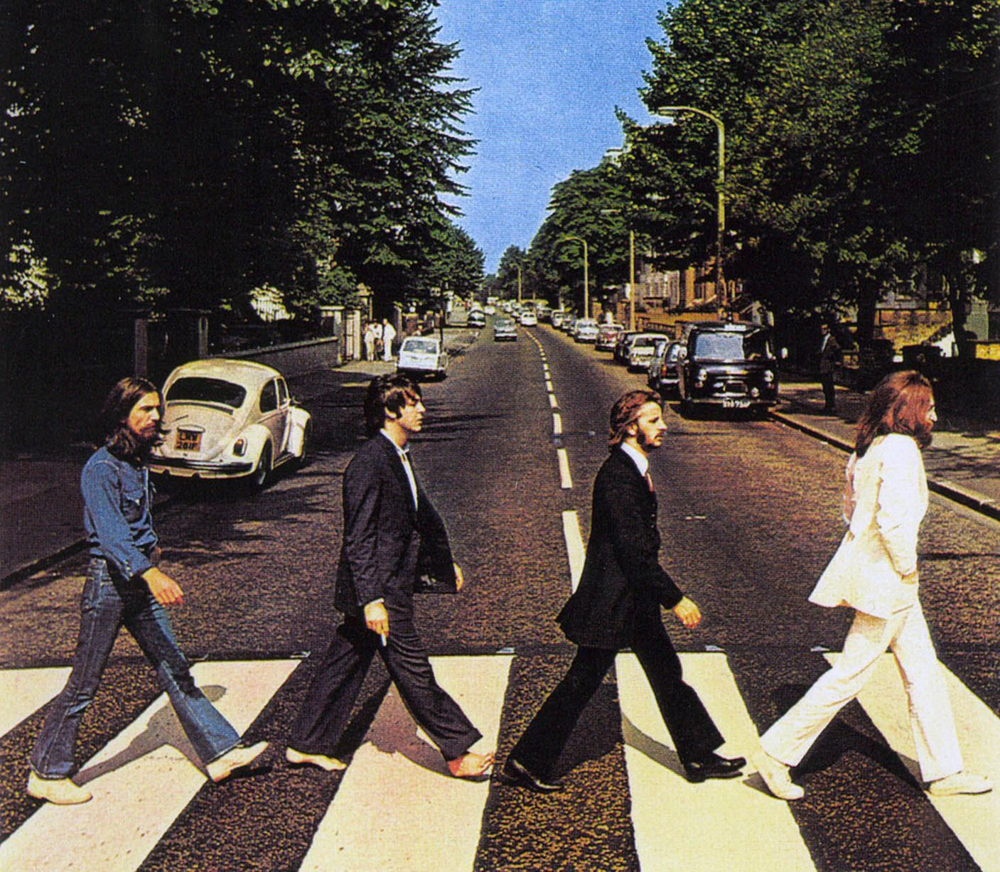 Image result for beatles crossing