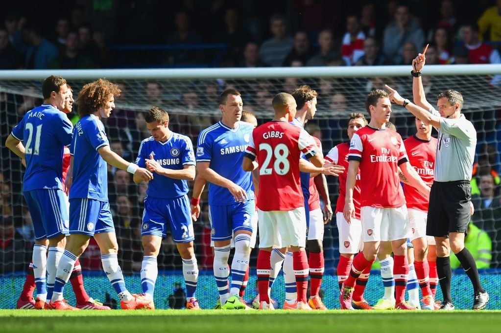 Hasil Chelsea vs Arsenal