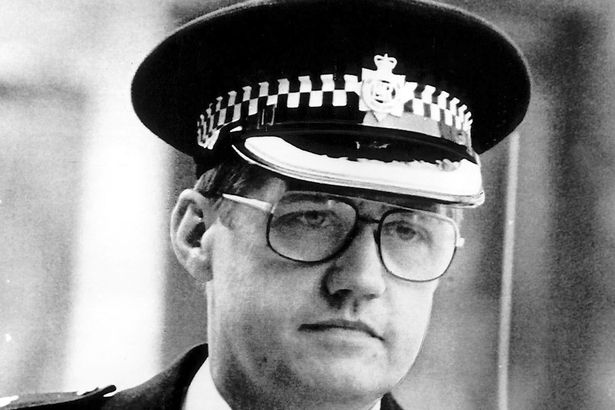 Duckenfield, pictured in an old photo, is among six individuals charged with offences relating to the disaster in April 1989