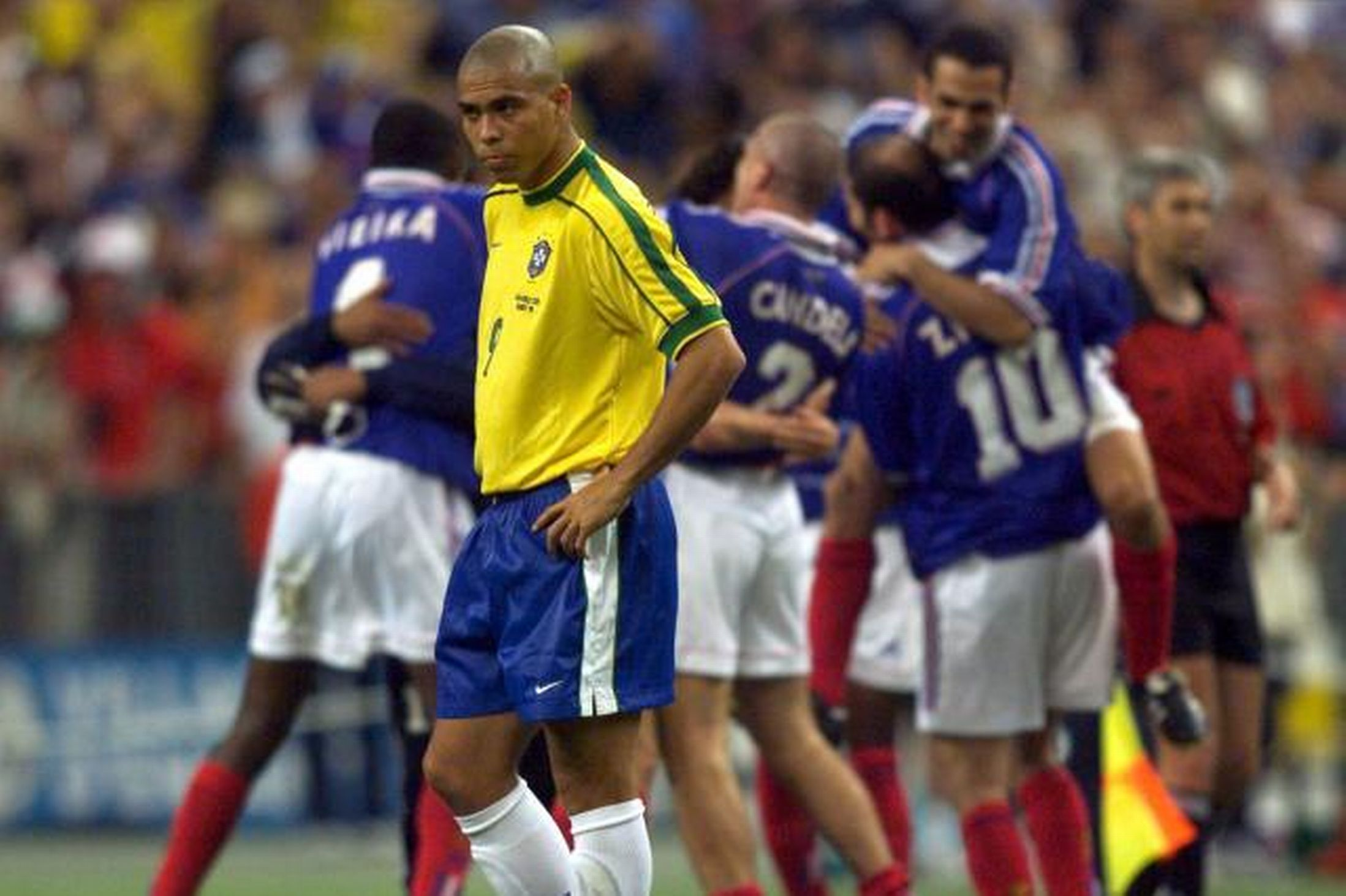Image result for ronaldo 1998 world cup