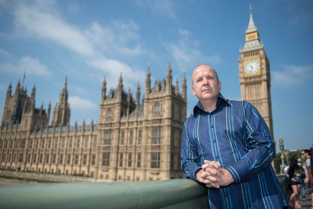 Anthony Gilberthorpe pictured in London