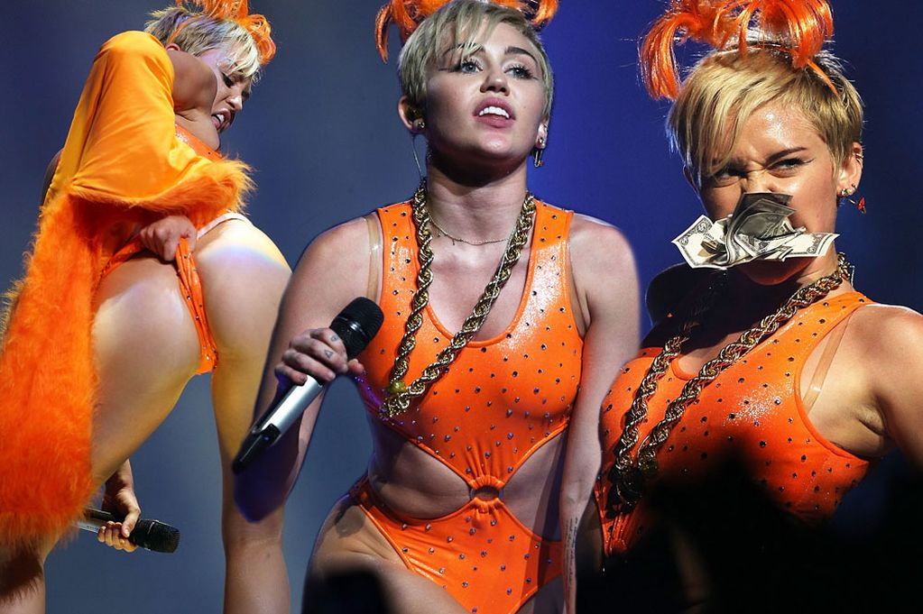 Miley Cyrus Cant Get Over Falling Over On Stage In