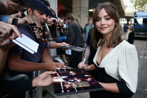 "Jenna Coleman attends the ""Doctor Who"""