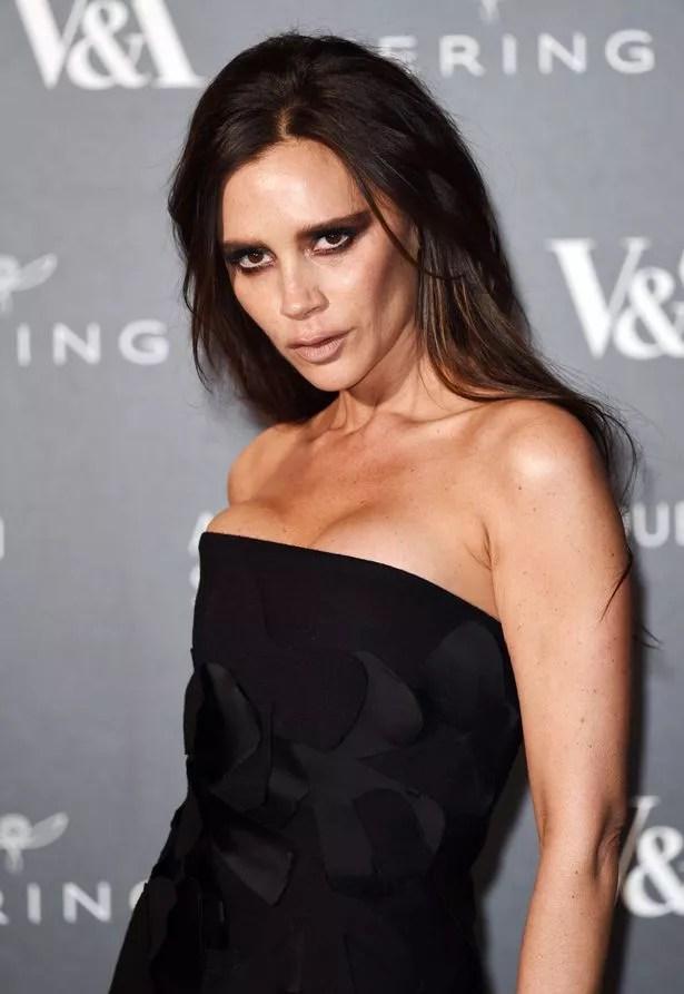 Victoria Beckham at the Alexander McQueen: Savage Beauty Fashion Benefit Dinner