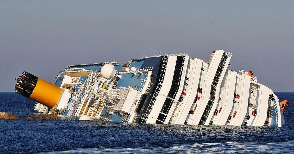 Image result for photo of costa concordia