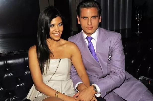 Kourtney Kardashian and Scott Disick in happier times