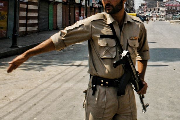 Indian police officer