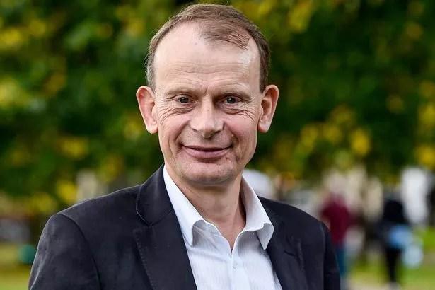 Andrew Marr at the Cheltenham Literature Festival
