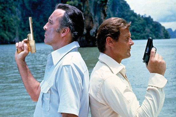 The-Man-With-The-Golden-Gun-Christopher-Lee-as-Scaramanga-and-Roger-Moore-as-James-Bond James Bond director who helmed four 007 movies dies at 93
