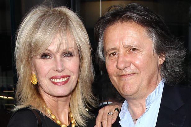 Joanna Lumley and husband Stephen Barlow