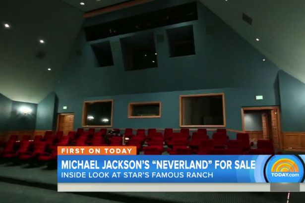 Michael Jackson's former Neverland ranch, which is for sale at $100 million.