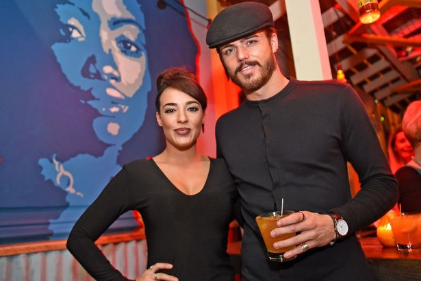 Stephanie Davis and Sam Reece at the Turtle Bay Victoria Street/Mathew Street VIP launch party