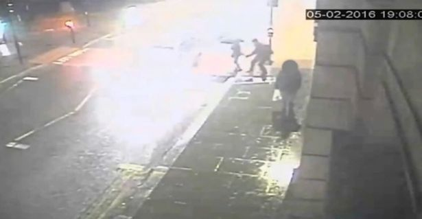 CCTV footage of sex attack in Manchester city centre