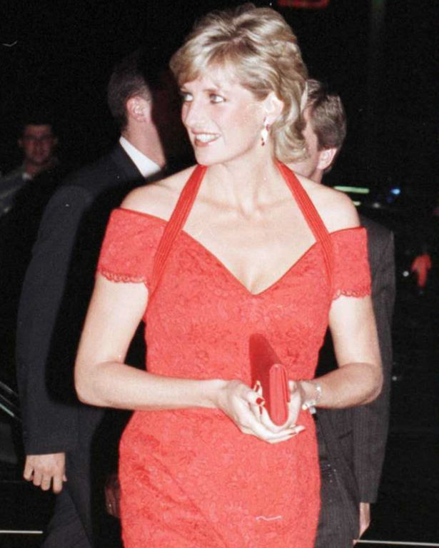 Princess Diana arrives at Alpi Charity Dinner in Buenos Aires