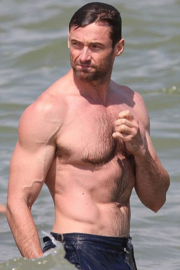 Hugh Jackman being a hero