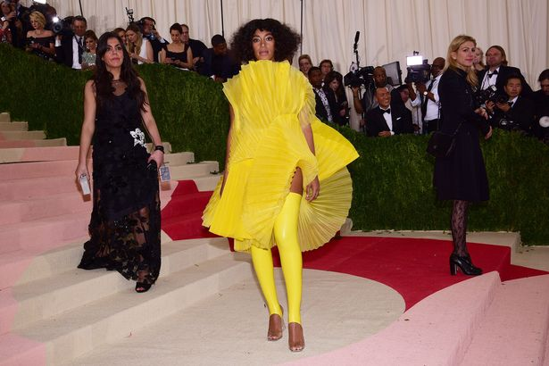 Solange Knowles at The Metropolitan Museum of Art's COSTUME INSTITUTE Benefit