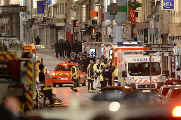 Paris terrorist attacks