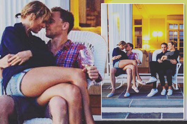 Taylor Swift and Tom Hiddleston