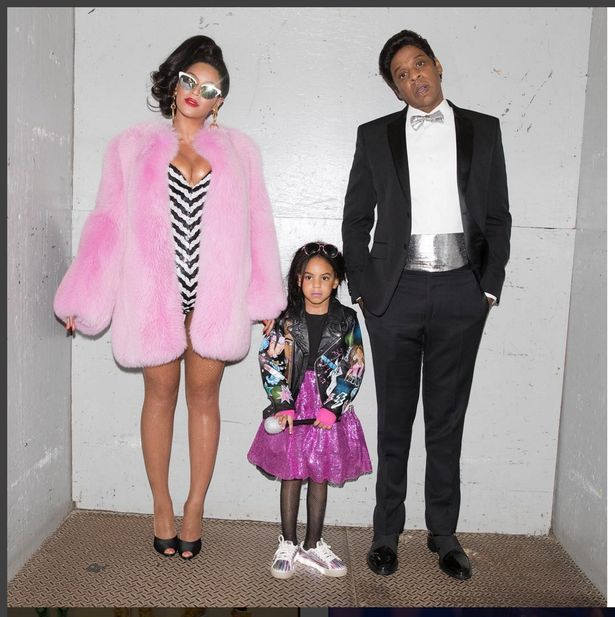 Beyonce, husband Jay Z and daughter Blue Ivy had a family theme for their Halloween costume