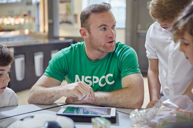 NSPCC Ambassador Wayne Rooney has thrown his support behind the new NSPCC hotline for victims of sexual abuse in football