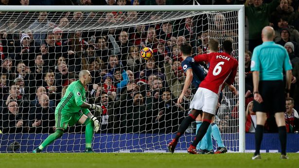 Paul Pogba scores their second goal