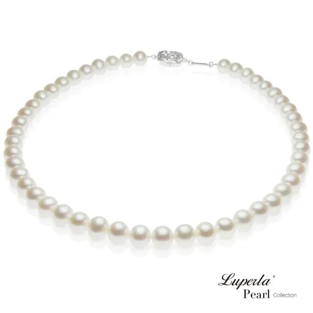 【大東山珠寶】皇后級天然淡水珍珠項鍊