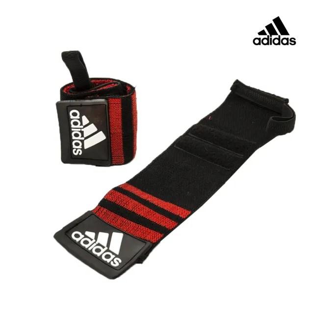 【adidas 愛迪達】Strength 纏繞式舉重護腕(ADGB-12142)