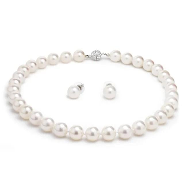 【大東山珠寶】12mm南洋貝寶珠項鍊套組(南洋貝寶珠 白)