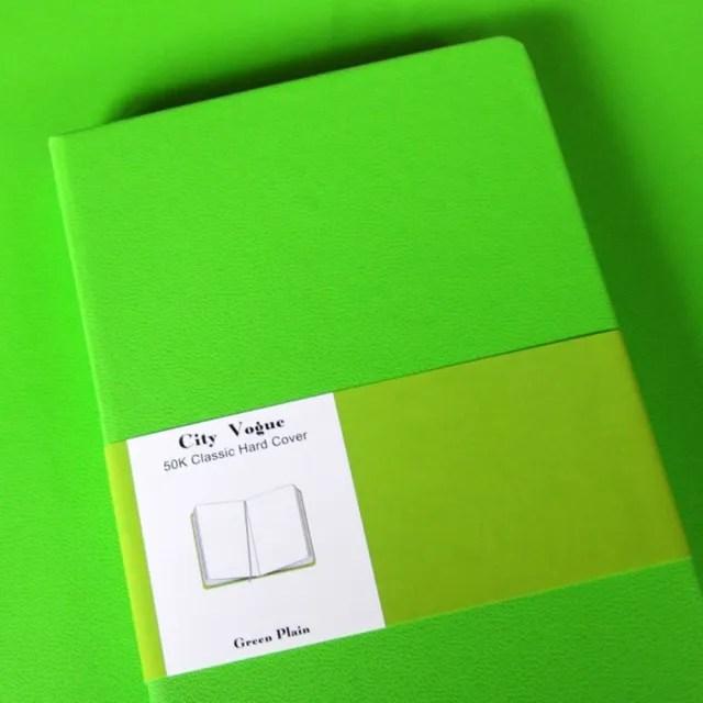 【Conifer 綠的事務】50K 都會時尚空白筆記本(精裝  萬用手冊  手札  手帳  筆記本)